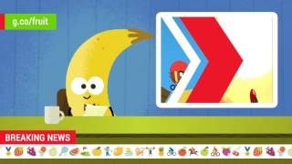 2016 Doodle Fruit Games: Coconut BMX Newscast