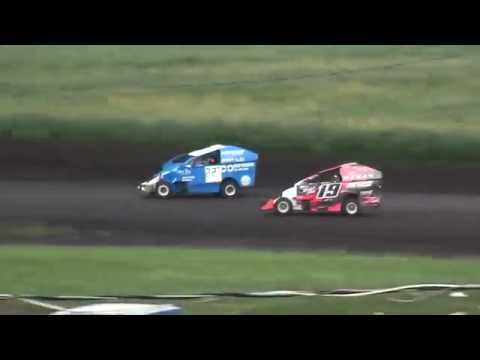 BCS Micro Mod Heats Benton County Speedway 8/28/16