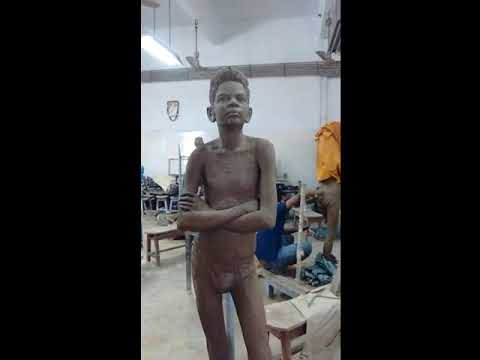 Passion of 3d sculpture art |modal study of patna art college|