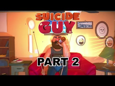 THERE'S ONLY ONE WAY OUT OF THIS | Suicide Guy Playthrough | Part 2
