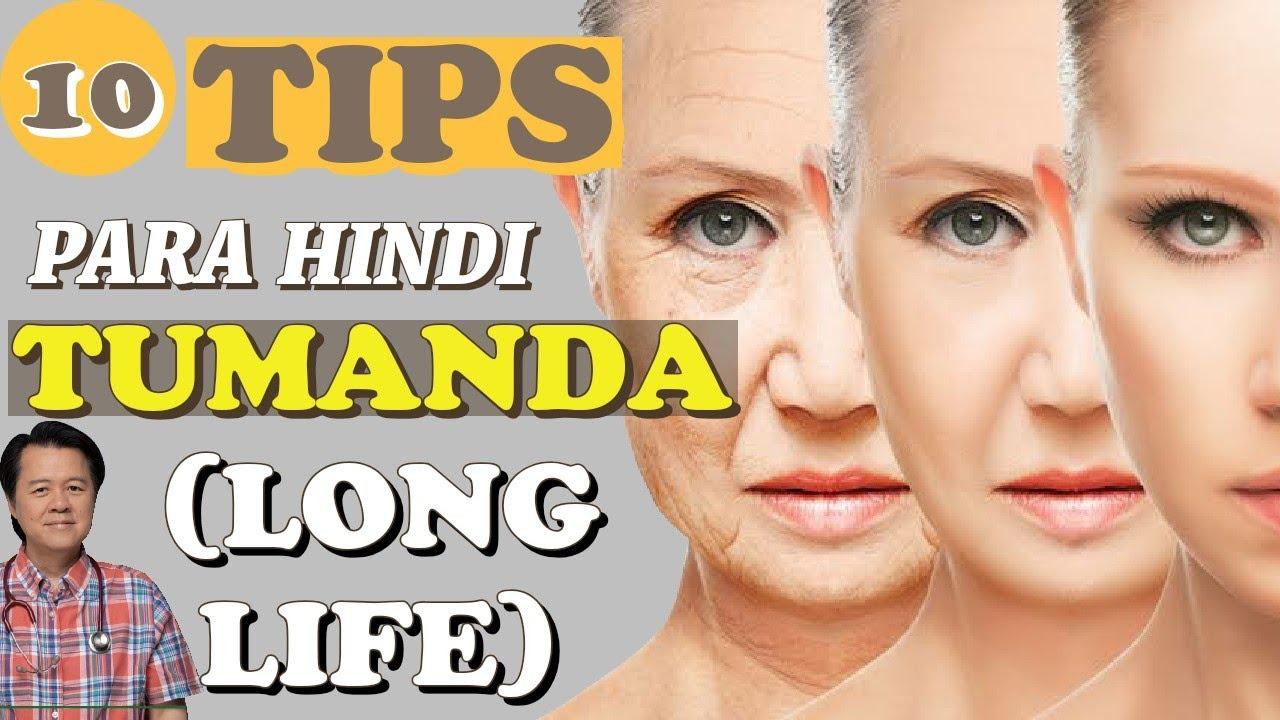 10 Tips Para Hindi Tumanda (Long Life)- Payo ni Doc Willie Ong #670c