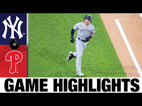 Mike-Tauchman-leads-Yankees-to-3-1-win-Yankees-Phillies-Game-Highlights-8520