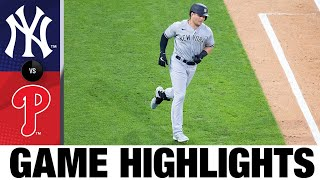Mike Tauchman leads Yankees to 3-1 win | Yankees-Phillies Game Highlights 8/5/20
