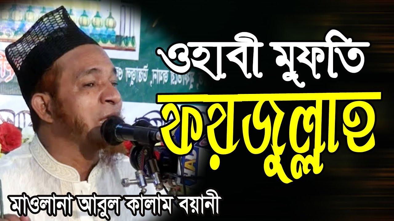 Download ওহাবী মুফতি ফয়জুল্লাহ জাহান্নামী   Allama Abul Kalam Boyani new Waz আবুল কালাম বয়ানী ওয়াজ