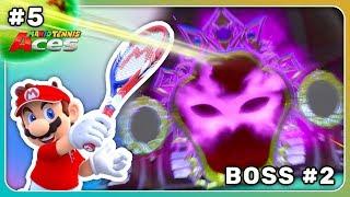 Illusoras Illusionen! Der Boss der Villa! | Mario Tennis Aces 🎾 Let's Play #5