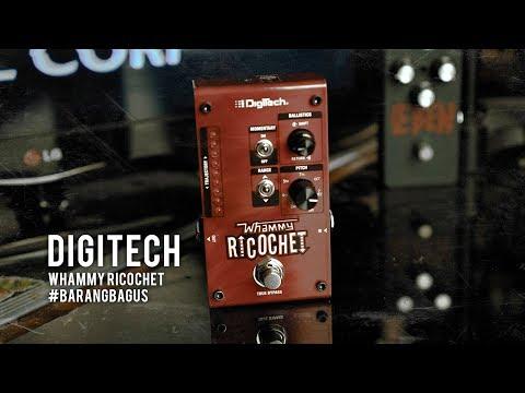 DIGITECH WHAMMY RICOCHET (Demo)