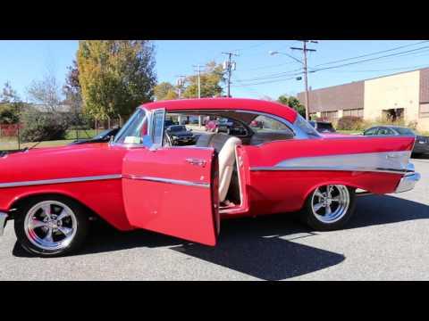 WeBe Autos Reviews a 1957 Chevy Belair Pro Touring Resto Mod For Sale~509 Big Bloc~A/C~$100k + Build