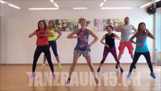 Zumba Fitness WARMUP Symphony Cash Cash Remix - by Daniela