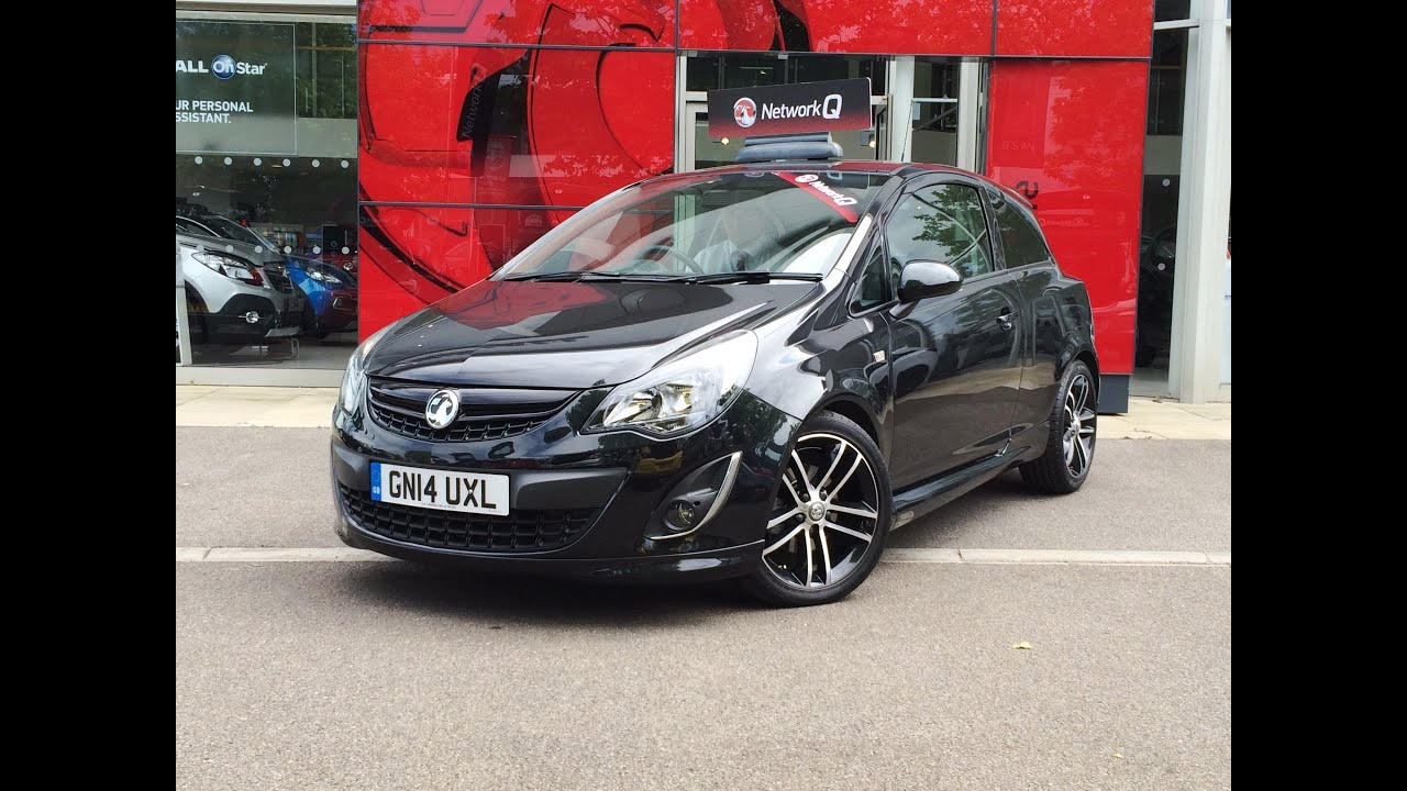 slm vauxhall offer this corsa turbo 1 4 black edition 120ps for sale in tunbridge wells youtube. Black Bedroom Furniture Sets. Home Design Ideas