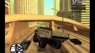 GTA SAN ANDREAS DUMPER RAMPAGE