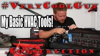 HVAC Tools For Beginners - My HVAC Tool Bag Setup!