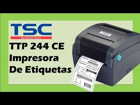 Tsc Impresora De Etiquetas De C 243 Digo De Barras T 233 Rmica