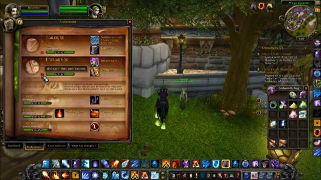 how to change your profession in wow how to change your profession in wow