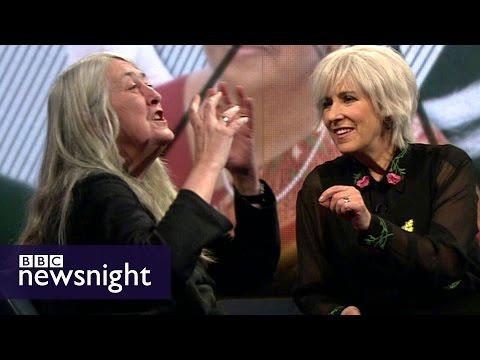 Glad to be grey? Kirsty Wark & Mary Beard on grey hair - BBC Newsnight