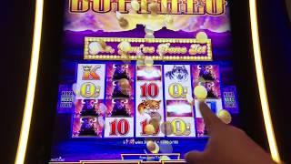 ★BIG WIN★  BUFFALO SLOT MACHINE BONUS, WONDER 4 SLOT MACHINE! WITH A LITTLE HELP FROM MY FRIENDS!