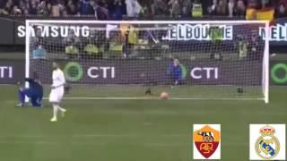 Серия пенальти Реал (Мадрид) -- Рома (Рим)