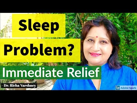 How to cure Insomnia and Hypersomnia at home naturally in hindi Acupressure Remedies Treatment video