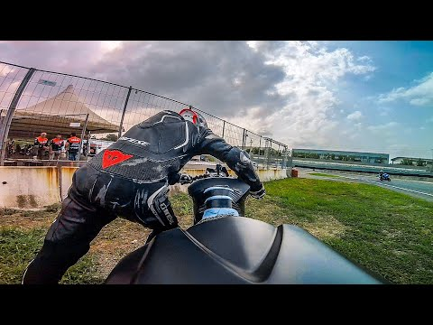 MY FIRST TRACK DAY AFTER THE QUARANTINE! - GONE WRONG...