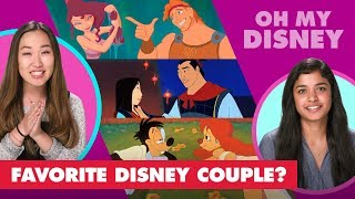 Who Is Your Favorite Disney Couple? | Let's Talk Disney by Oh My Disney