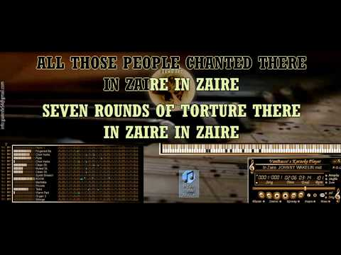 In Zaire  JOHNNY WAKELIN KARAOKE BASE MIDI [DEMO SOUNDFONT]