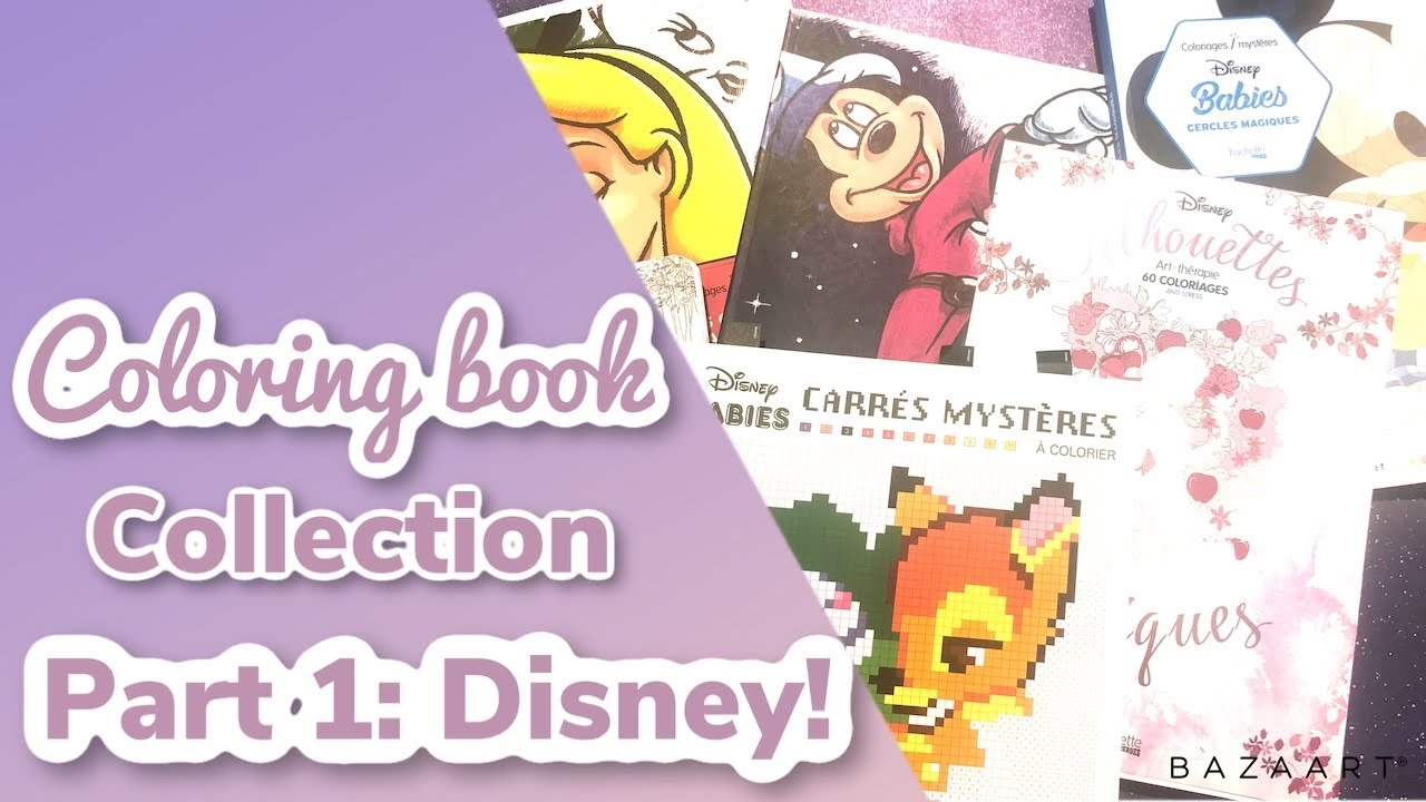 Coloring Book Collection Part 30- DISNEY!