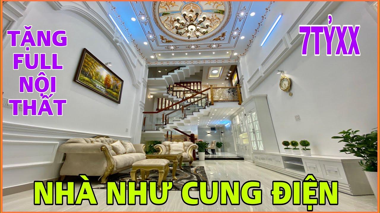 Bán nhà Gò Vấp | Thăm quan nhà đẹp 4 lầu rộng 4.5m tặng nội thất 1 tỷ đang giảm giá tại Gò Vấp