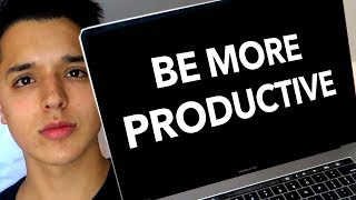 5 WAYS TO BE PRODUCTIVE IN 2019!