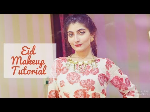 Get Ready With ME - EID Makeup Tutorial 2017! | Anushae Says
