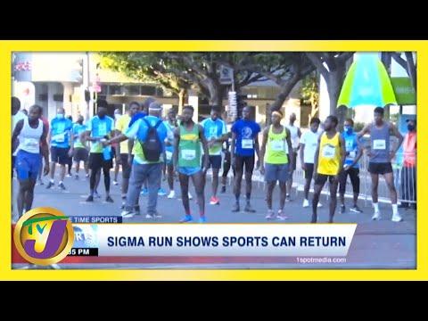 Sigma Run Shows Sports Can Return in Jamaica   TVJ Sports