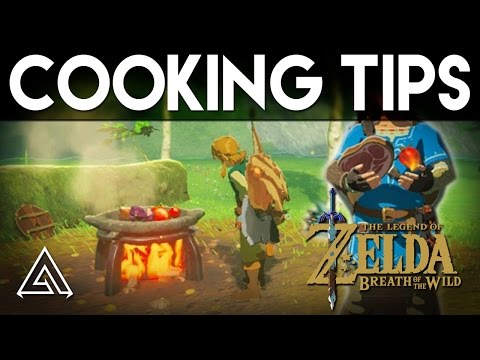 The Legend of Zelda Breath of the Wild Gameplay - Cooking Explained