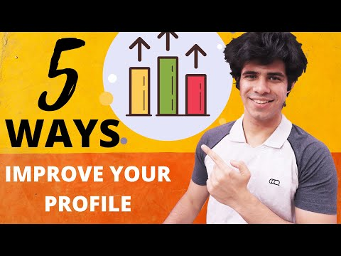 Improve your profile || What universities look for in their applicants