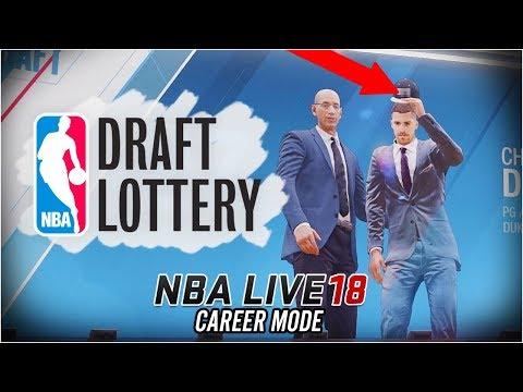 NBA LIVE 18 Career Mode - Ep 6 - NBA DRAFT!! (NBA Live 18 The One #6)