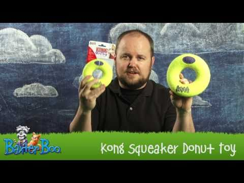 Kong Air Dog Donut Dog Toy at BaxterBoo