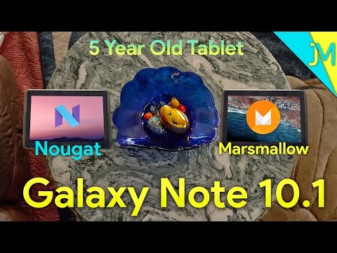 Nougat For Galaxy Note 10.1, Marshmallow Aswell [Showcase]
