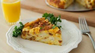 Bacon Egg & Cheese Breakfast Strata