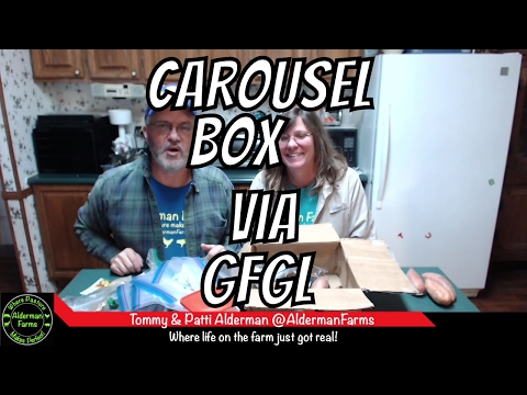 Carousel Seed Box Started by Go For Green Living | AldermanFarms