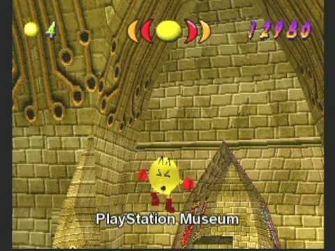 Pac-Man Ghost Zone - 2009 PlayStation Museum Cancelled Game Of The Year