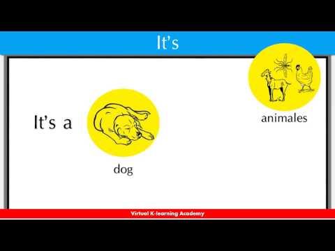 El uso de it's en inglés