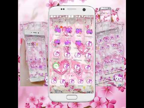 Kitten Berlian Pink Princess Manis Tema Aplikasi Di Google Play