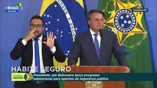 Bolsonaro lança 1º programa habitacional para profissionais da segurança pública do País