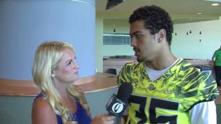 Oregon linebacker Troy Dye discusses expectations for Ducks' defense under Jim Leavitt