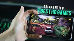 Top 7 Best HD games for Galaxy Note 8 (free)