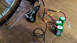 Test moteur Hoverboard sur vélo Motobécane partie 1