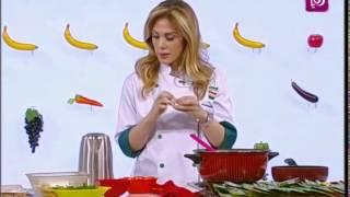 ديما حجاوي تحضر كرات الدجاج