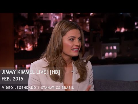 Jimmy Kimmel Live!: Stana Katic - 2015 Completo (Legendado) [HD]