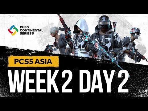 PCS5 ASIA - Week 2 Day 2   PUBG Continental Series