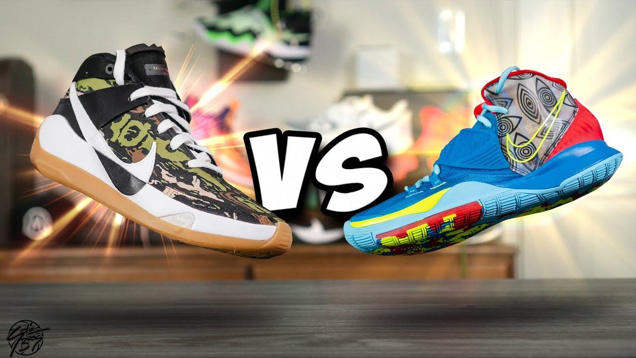 Nike KD 13 vs Nike Kyrie 6!