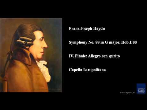 Franz Joseph Haydn, Symphony No. 88 in G major, Hob.I:88, IV. Finale: Allegro con spirito