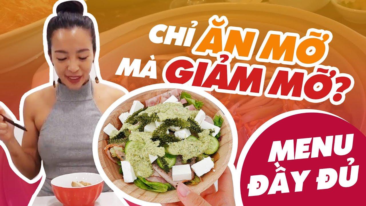 Thực đơn KETO siêu giảm mỡ // Một ngày mình ăn gì? ♡ Hana Giang Anh