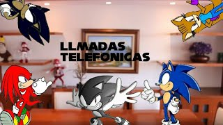 LLAMADAS TELEFONICAS | Hola Soy German (Versión sonic youtubers) (Parodia)